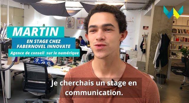 Mon stage à W : Martin chez Fabernovel Innovate, agence de conseil sur le numérique